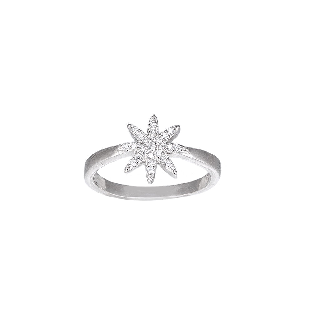 Fairy Star Sterling Silver Ring