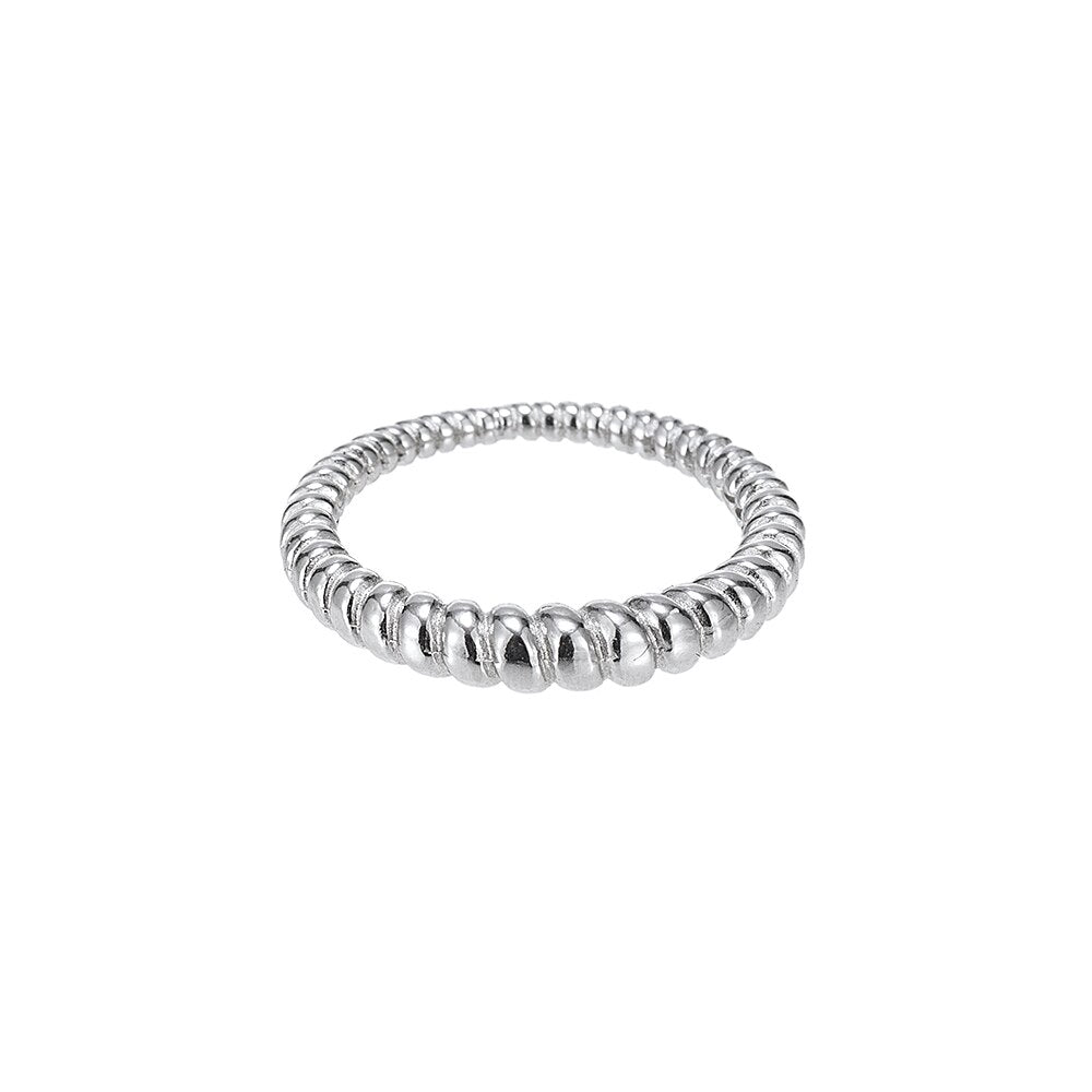 Sterling Silver Rolo Ring