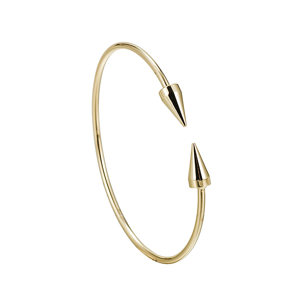 Stainless Steel Arrow Bangle