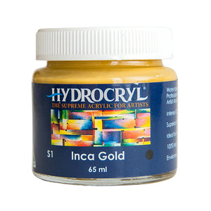 Inca Gold acrylic paint