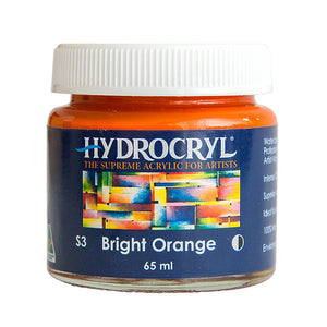 Bright Orange acrylic paint