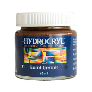 Burnt Umber acrylic paint