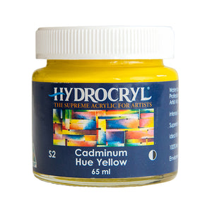 Cadmium Hue Yellow acrylic paint