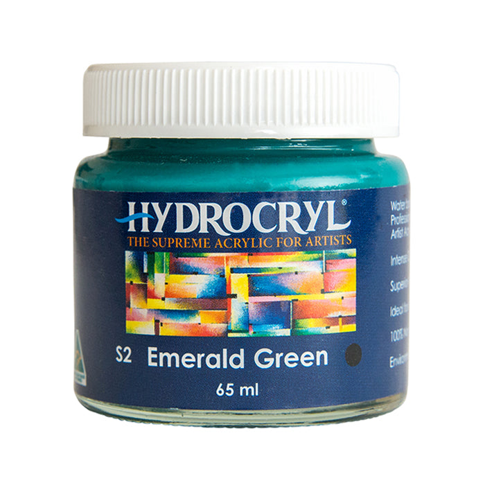 Emerald Green acrylic paint