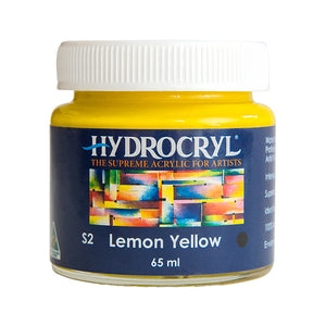 Lemon Yellow acrylic paint