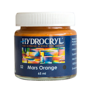Mars Orange acrylic paint