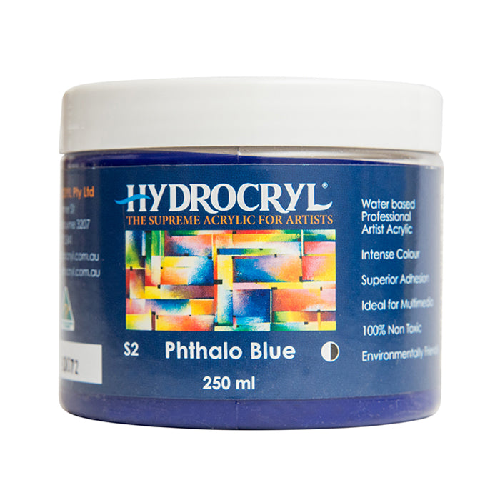 Phthalo Blue acrylic paint