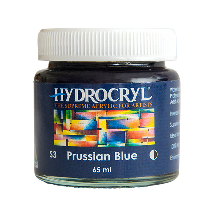 Prussian Blue acrylic paint non toxic