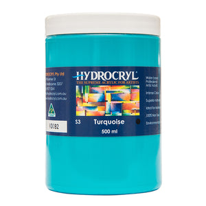 Turquoise acrylic paint non toxic