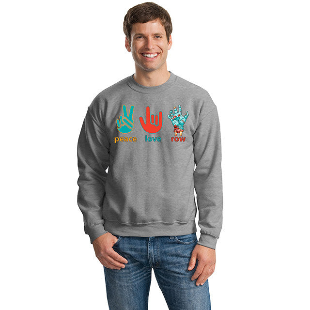 Peace Love Row Sweatshirts HD