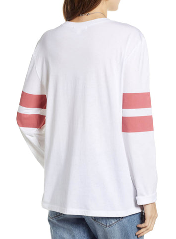 MAC Varsity Women's LS Striped Shirt
