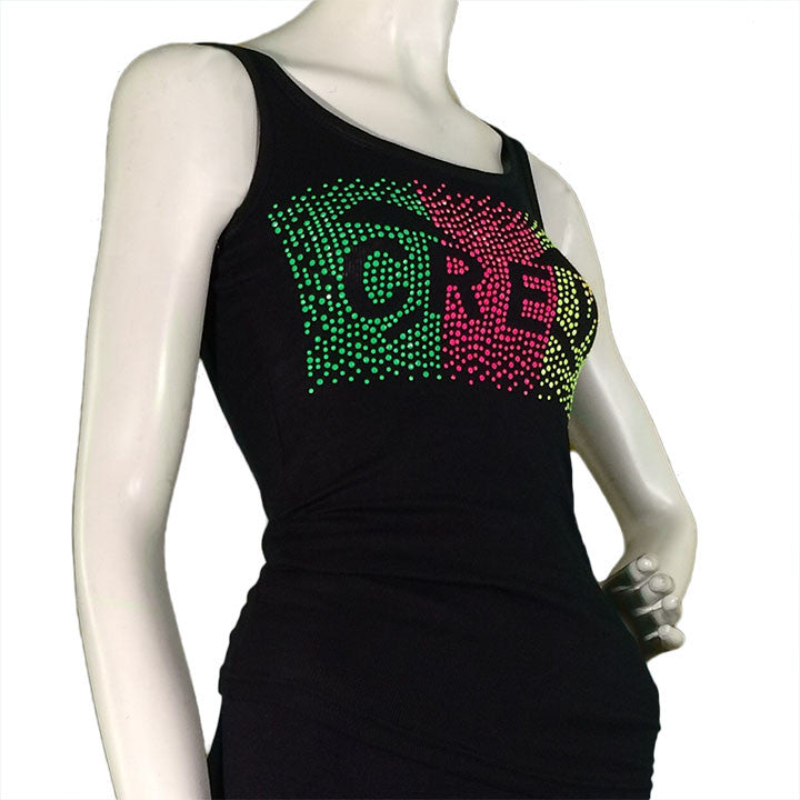 Candy Dot Tank Front