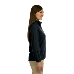 MAC Navy Fleece Jacket, Women's Full Zip