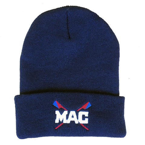 MAC Beanie Long Knit Cap
