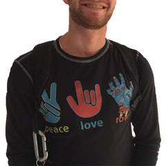 Peace Love Row LS Thermal