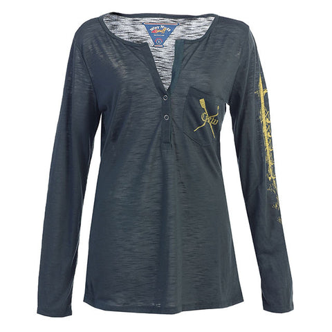 Sheer Women's LS Boat Henley