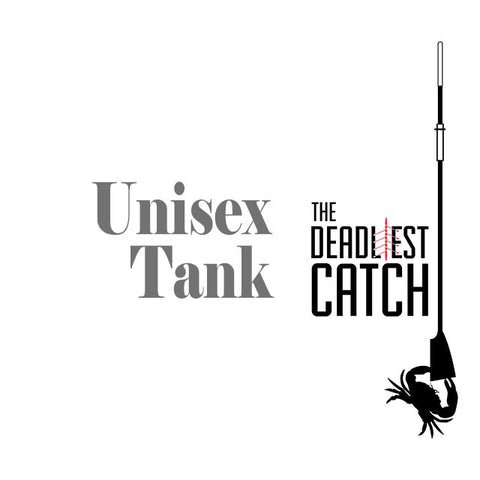 Deadly Catch Ringer Tank [unisex] Gray/Red