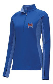 MAC Women's Half-zip Royal Pullover