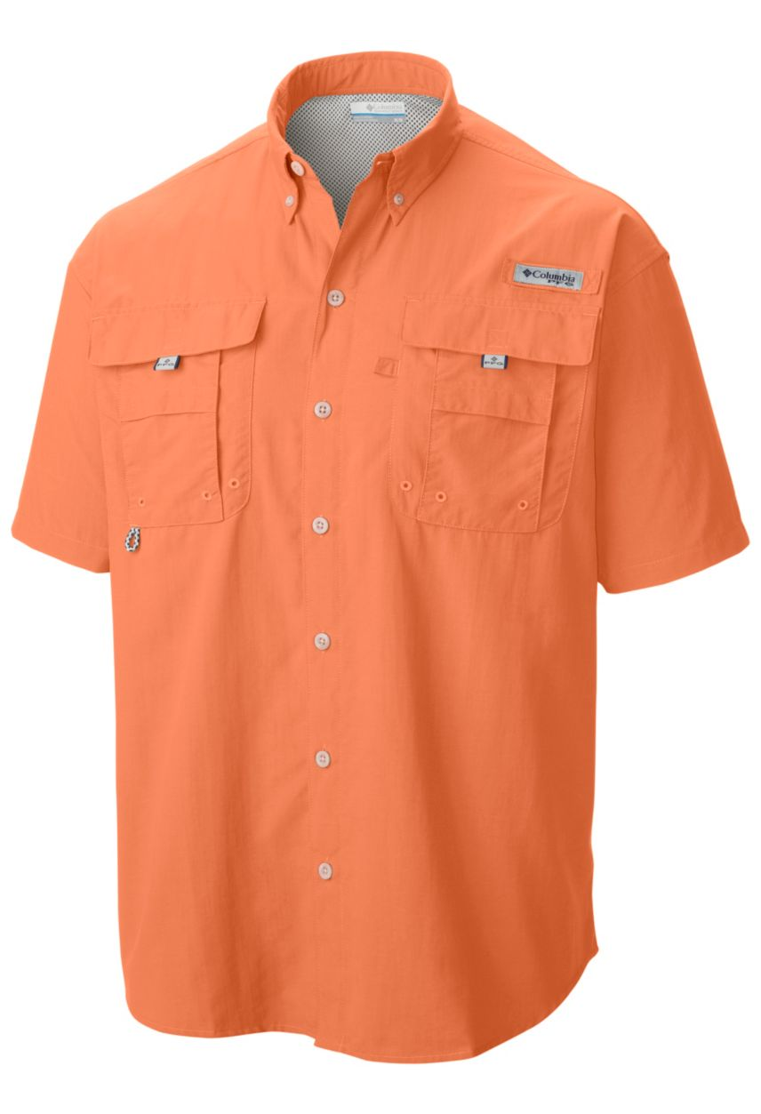 Columbia MEN'S PFG BAHAMA™ II SHORT SLEEVE ROW SHIRT