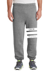 MAC Unisex Crew-stripe Sweatpants
