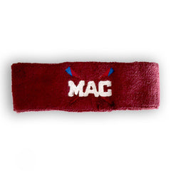 MAC Terry Sweatband Red