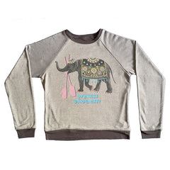 Weigh Enough Pullover (Gray French Terry)