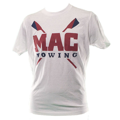 MAC Workout White Cotton Unisex Tee