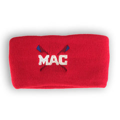 MAC Wide Red Headband