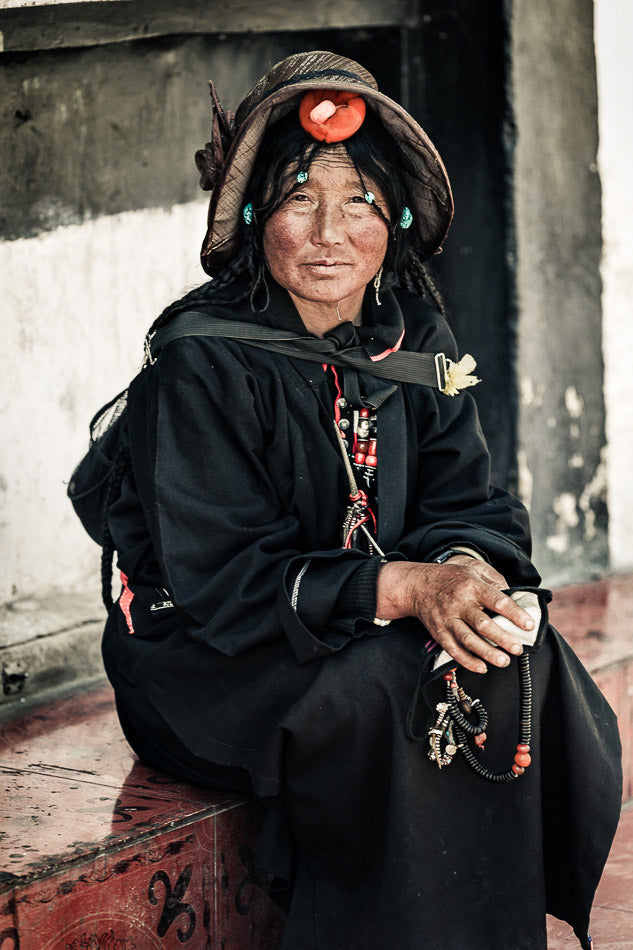 Faces Of Tibet I