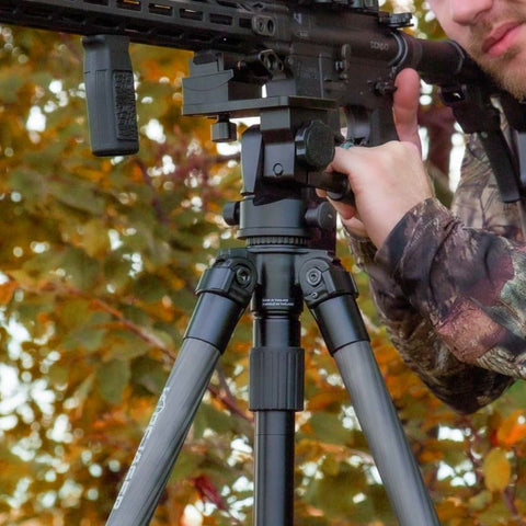 The Reaper Rail provides fluid-motion while hunting or long-range precision shooting.