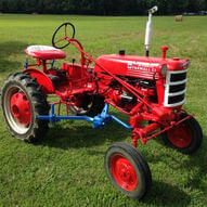 IH Farmall Cub Tractor with Cultivator