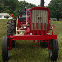 IH Farmall 140 Tractor Front View Restored