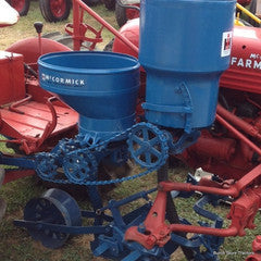 Sidemount Planter Unit for Farmall Cub Tractor