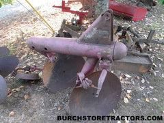 3 point hitch 2 disc turning plow