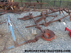 3 point hitch tool bar cultivator