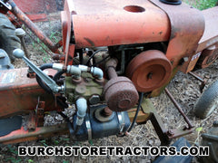 Antique Economy Garden Tractor with hydraulics