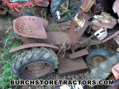 Antiques Lawn tractor with Mower Deck for used parts