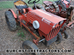 Economy garden Tractor for salvage parts