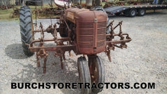Farmall C front right C254 cultivator