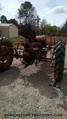 Farmall C tractor with C254 back right side