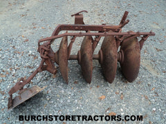 Farmall 1 Point Fast Hitch 1-F14-D 4 Disc Harrow Plow