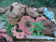 farmall tractor wheel weights