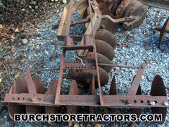 Garden Tractor Harrow Attachment