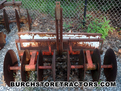 Garden Tractor Harrow Implement