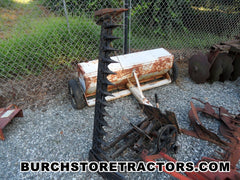 Garden Tractor Sickle Mower Attachment