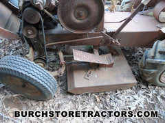 Good Used Mower Deck for antique garden tractor
