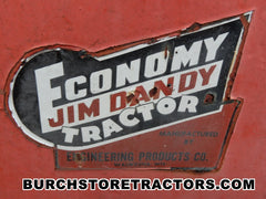 Jim Dady Garden Tractors for salvage