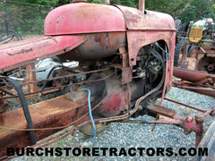 MH Pony tractor for salvage