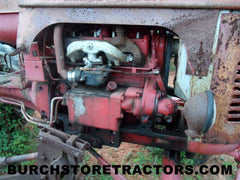 Massey Harris Pacer tractor for salvage