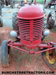 Massey Harris Pacer tractor for used parts